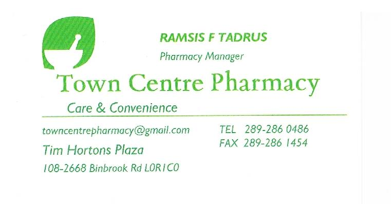Town Centre Pharmacy