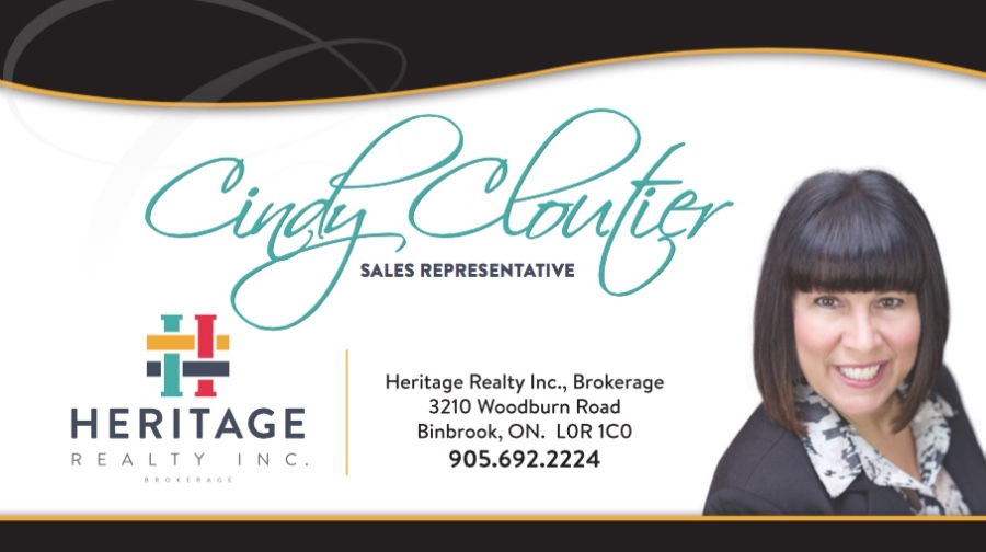 Cindy Cloutier, Heritage Reality